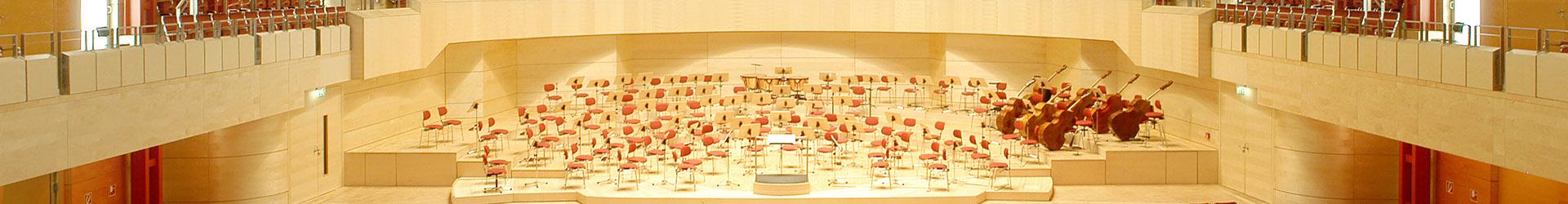 Philharmonie Essen - Alfried Krupp Saal - TUP